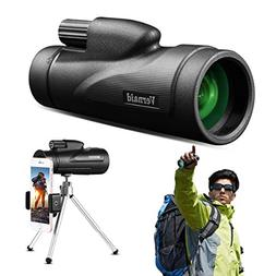 Bpop Monocular Telescope 12×50 Waterproof Night Vision Mono
