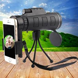 Monocular Telescope, Outdoor Portable High-powered Wide-angl