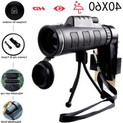 HOT! 40X60 HD Mini 40X Monocular Telescope BAK4Prism Scope +