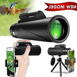 Monocular Telescope for Adult, High Power 12x50 Compact Sco