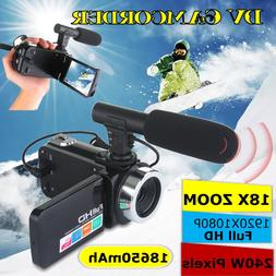 Multifunctional 4K HD <font><b>Camera</b></font> Camcorder I