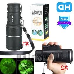 New Day Night Vision 40X60 HD Optical Monocular Hunting Camp