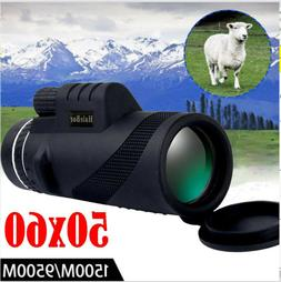 New Day Night Vision 50X60 HD Optical Monocular Hunting Camp
