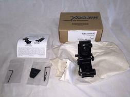 New Wilcox NVG Night Vision Goggle Mount Model L4 G21 Black