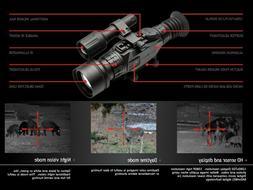 NEW Sightmark WRAITH HD 4-32x50 Digital Day/Night vision Rif