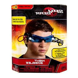 Night Goggles in Bright Led Lights & Blue Tinted Lenses Dras