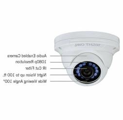 Night Owl Dome Security Camera Add On Indoor/Outdoor Wall/Ce
