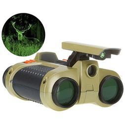 FM Night Scope 4X30 Binoculars Night Vision Goggles for Chil