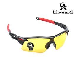 Runworld Men's HD Night View Driving Glasses Polarized Anti-