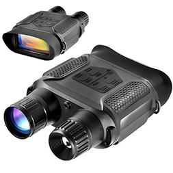 Digital Night Vision Binoculars, QIYAT Infrared 7x31 Waterpr