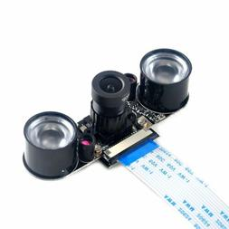Night Vision Camera Adjustable-Focus 1080p Video For Raspber