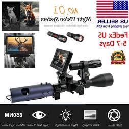 Night Vision device Scope Sight Camera 850nm Infrared LEDs I