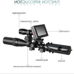Night vision for scope LED Monitor for hunting rifle