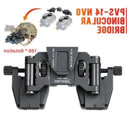 Night-vision Goggle Stent Skip Rhino NVG Mount Arms Bridge f