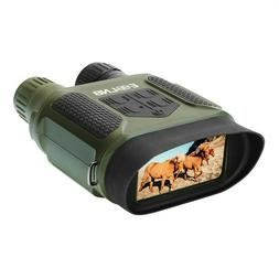 Digital Infrared Illuminator Night Vision Binoculars Record