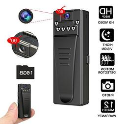 GeekSpark Night Vision Hidden Camera, HD Mini Camera, Nanny