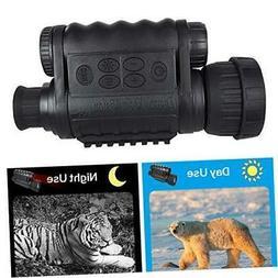 night vision monocular hd digital infrared camera