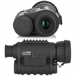 Night Vision Monocular, HD Digital Infrared Camera Scope 6x5
