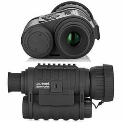 Night Vision Monocular HD Digital Infrared Camera Scope 6x50
