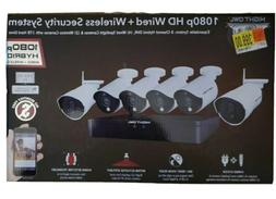 Night Vision Owl Wireless/Wired 1 TB 1080p Security Camera S