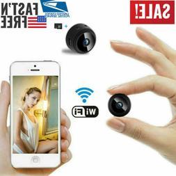 Night Vision Remote 1080P DVR Mini Spy Camera Wireless Wifi