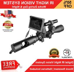 Night Vision Rifle Scope Hunting Sight Infrared 850nm LED IR