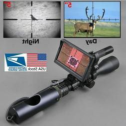 Night Vision Riflescope For Outdoor Hunting Scopes Optics Si