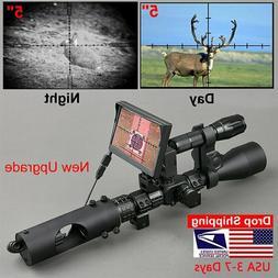 Night Vision Riflescope Hunting Scopes Optics Sight Tactical