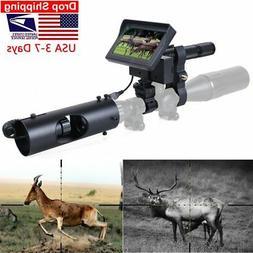 Night Vision Riflescope Hunting Scopes Sight Camera Infrared