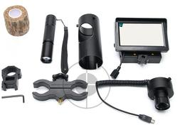 Night Vision Scope for Rifle Scope Add On DIY Device W/Displ