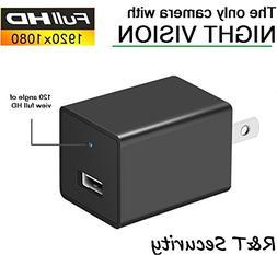 Night Vision Spy Camera Charger - Hidden Camera Adapter - Mi