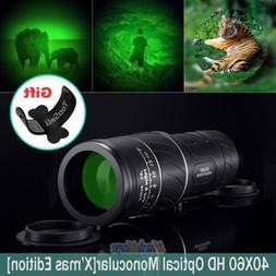 Night Vision Super High Power 40x60 Monocular Telescope Mult