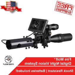 Night Vision Infrared Rifle Scope Hunting Sight Advanced 850