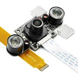 Arducam Noir Camera for Raspberry Pi - IR Cut Filter Auto Sw