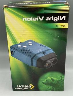 NV100 Infrared IR Night Vision Scope Digital Solomark
