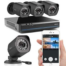 Zmodo 720p HD NVR Weatherproof Surveillance Video Security C