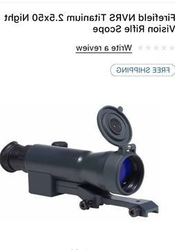 Firefield NVRS Titanium 2.5x50 Night Vision Rifle Scope