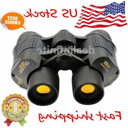 Optical Night Vision Binoculars Telescope, 60 X 60 High Clar