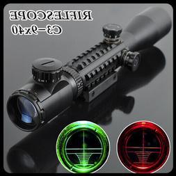 Optics 3-9x40 Night Vision Optical Illuminated Sight Hunting