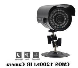 Outdoor Camera Bullet Night Vision CCTV Security Analog CMOS