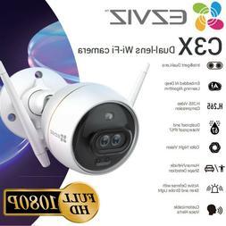 EZVIZ Outdoor Security Camera WIFI 1080P Smart APP Color Nig