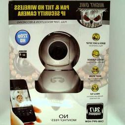 Night Owl 720P Pan & Tilt Wireless IP Camera