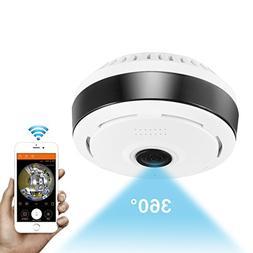 360 Degree Panoramic Camera Wifi Indoor IP Camera Fisheye Ba