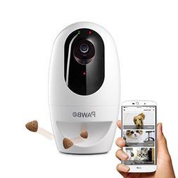 Pawbo Life Wi-Fi Pet Camera: 720p HD Video, 2-Way Audio, Vid
