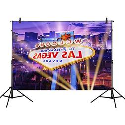 Allenjoy 7x5ft Photography Backdrop Classical Sign welcome L