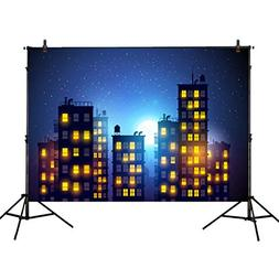 Allenjoy 7x5ft photography backdrops superhero super city ni