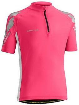 Altura Pink-white 2016 Night Vision Kids Short Sleeved Cycli