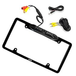 Pyle License Plate Frame Rear View Backup Camera - Reverse P