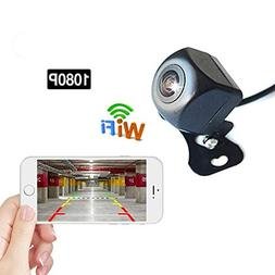 Podofo WiFi Reversing Camera 1080P Full HD Night Vision Wire