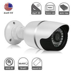 HJT POE 1080P IP Camera Network Onvif P2P H.264 Outdoor Secu